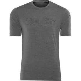 Haglöfs Ridge t-shirt Heren grijs